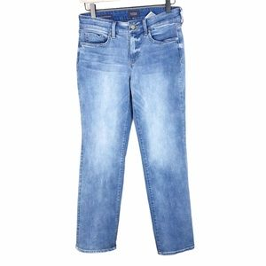 NYDJ Petite Marilyn Straight Leg Jeans Size 4P